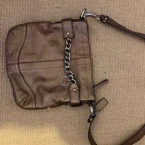 Medium cross body coach purse